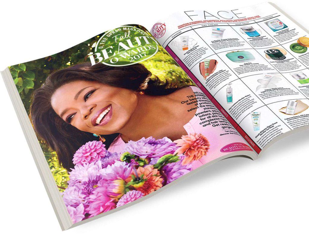 O, The Oprah Magazine's Fall Beauty O-Wards